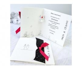 Partecipazione di nozze 3D
