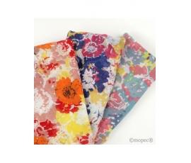 Foulard a stampa florale