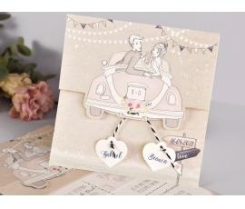 Partecipazione di nozze originale