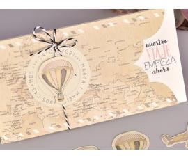 Partecipazione di nozze personalizzabile