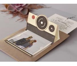 Partecipazione simpatica Polaroid