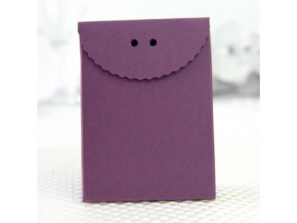 Scatola viola scuro