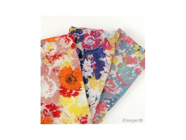 Foulard a stampa florale