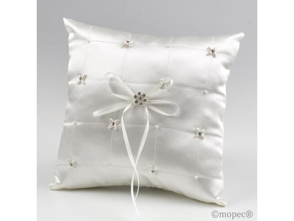 Cuscino con perline