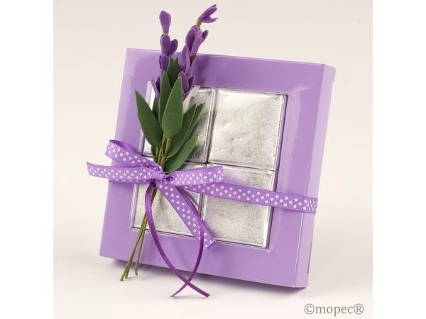 Confezione regalo con fiore di lavanda