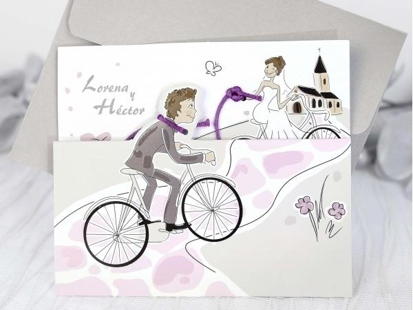 Favoloso Partecipazione di nozze – FashioNozze.com GJ68
