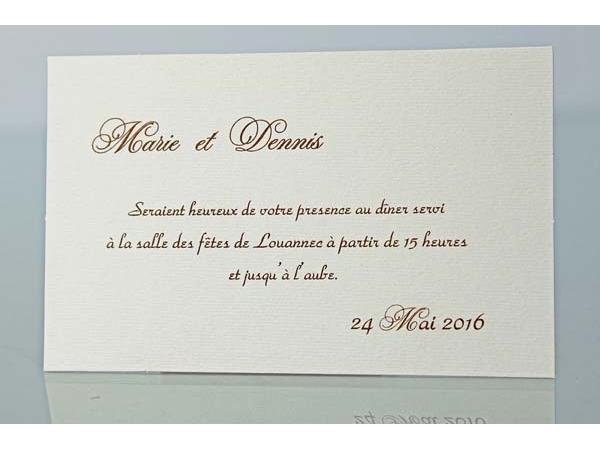 Famoso Invito pranzo/cena – FashioNozze.com YV41