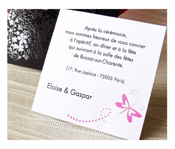 Ben noto Partecipazione di nozze – FashioNozze.com NR54