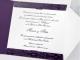 Partecipazione di nozze Violetta